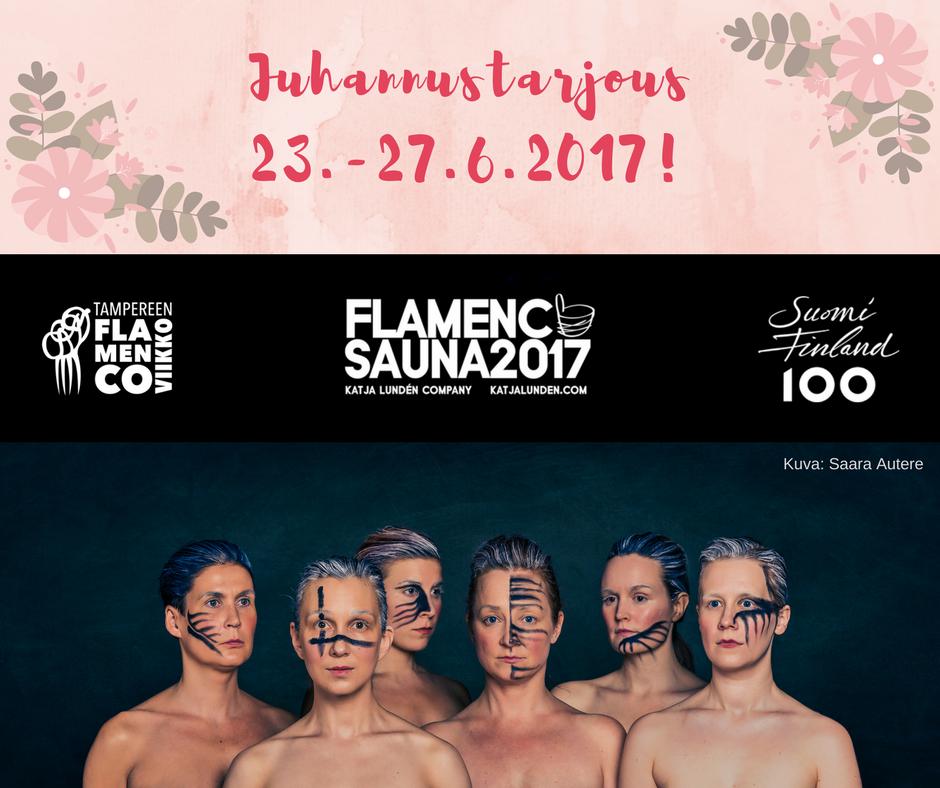 Tampereen Flamencoviikon juhannustarjous